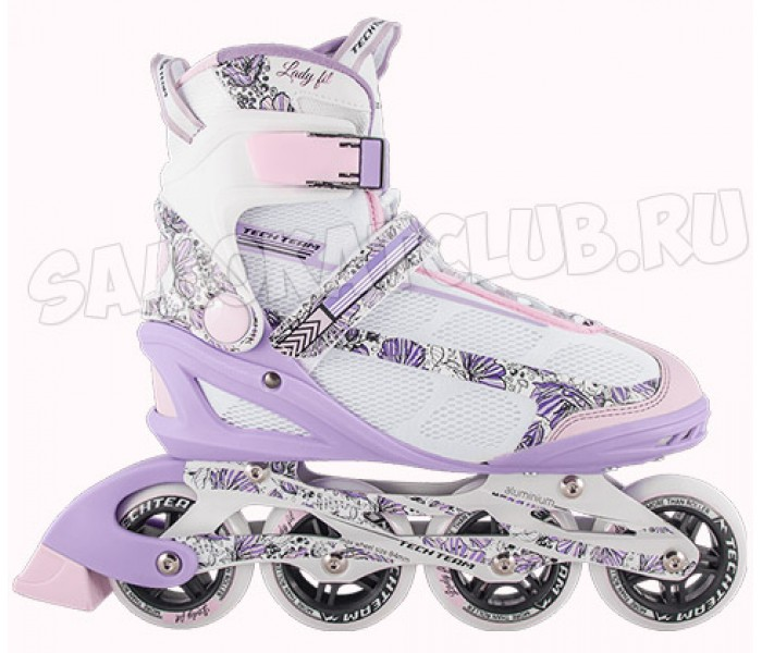 Женские роликовые коньки TT Lady Fit 2018 розовые