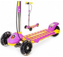 Small Rider Galaxy (светящиеся колеса и ручной тормоз) трехколесный самокат
