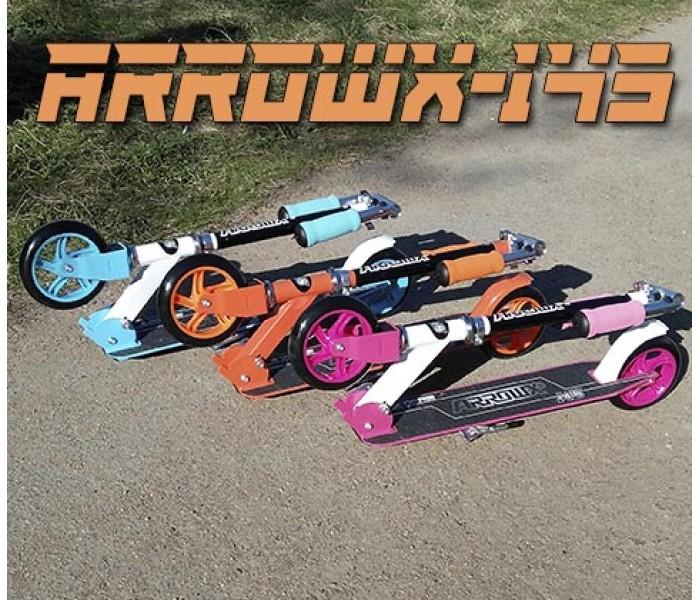 Cамокат двухколесный ARROWX-145 для детей и подростков