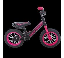Беговел Tech Team GAMER 2018 розовый. Надувные колеса.
