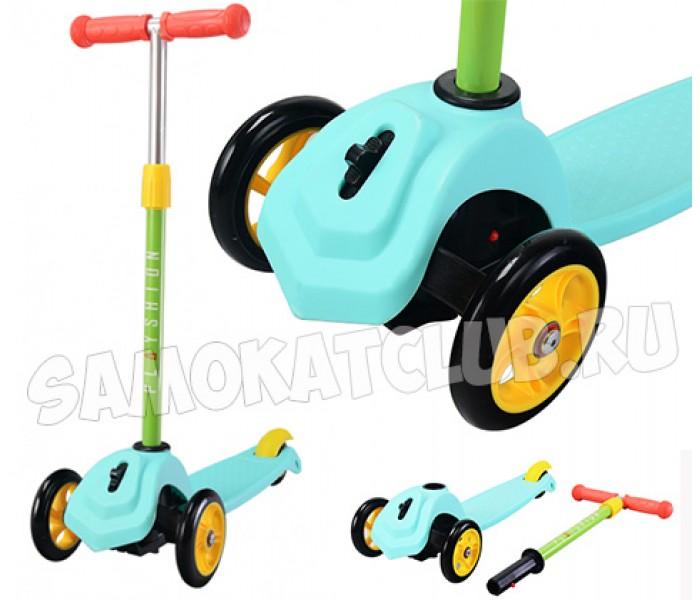 Детский трехколесный самокат Playshion Mini