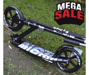 MICRON XL1- BLACK 230 самокат для взрослых с большими колесами