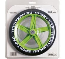 Набор колес и подшипников для самоката TechTeam 230 мм