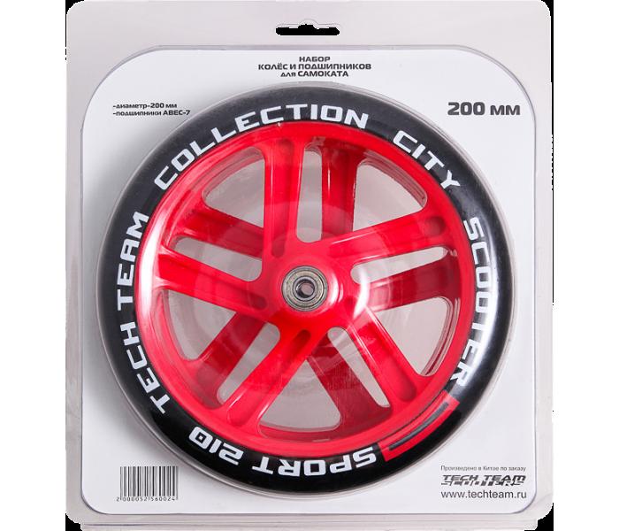 Набор TECHTEAM колеса и подшипники для самоката 200