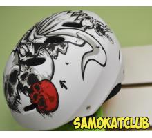 Шлем для катания на роликах, самокате, велосипеде