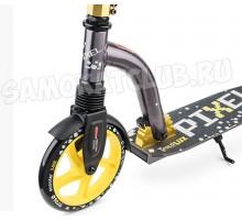 Самокат Trolo LUX Pixel yellow с амортизатором