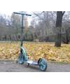 Самокат Trolo LUX Quantum Аква с амортизатором и большими колесами
