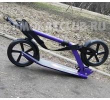 RZ scooter-230 Wine самокат для взрослых с большими колесами 230мм