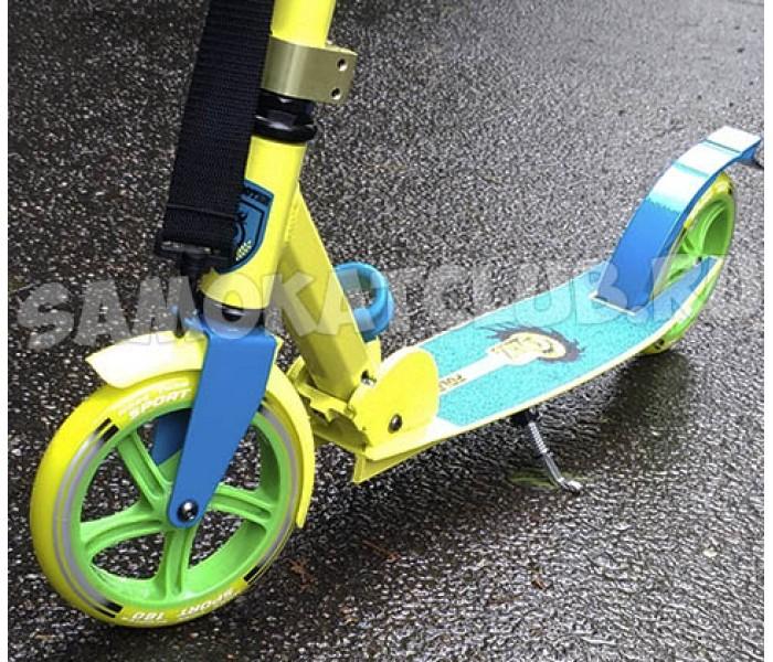 Легкий самокат ORZ-180 Relishing Zoom для подростков и взрослых