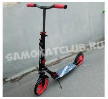 RACE-250 самокат для взрослых с амортизатором и большими колесами 250-230мм