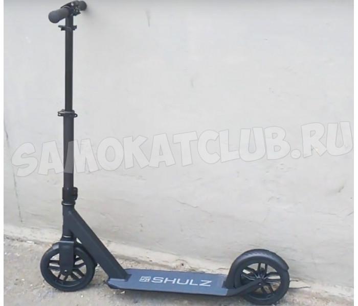 Самокат SHULZ 200 Solid с бескамерными резиновыми колесами