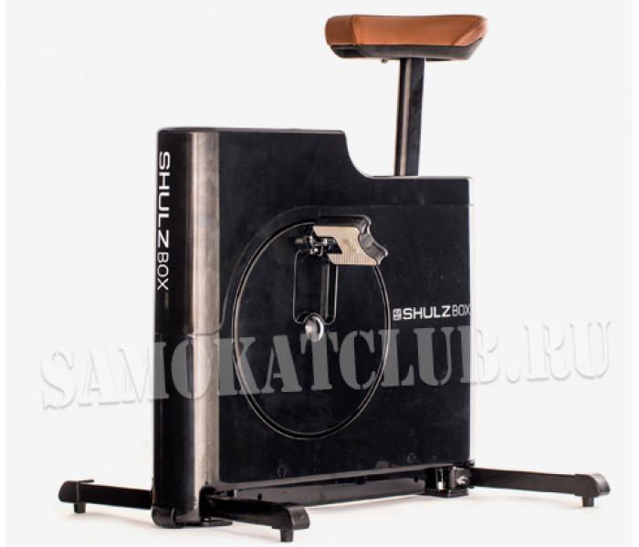 Компактный велотренажер ShulzBOX черный