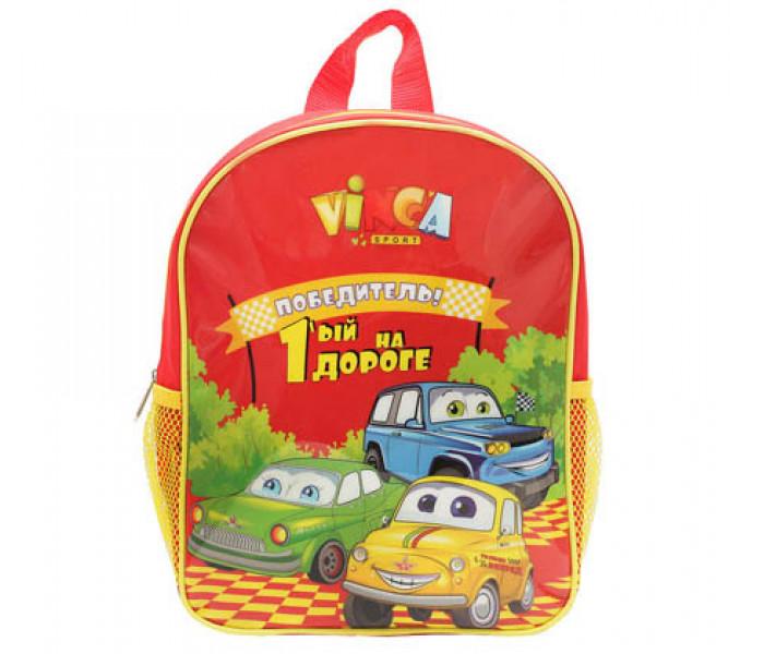 Рюкзак детский Машинки с креплением на велосипед или на самокат