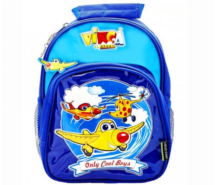 Рюкзак детский Самолеты с креплением на велосипед или на самокат