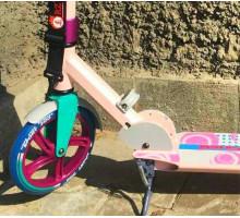 ORZ 200 (2019) розовый самокат с большими колесами 200мм