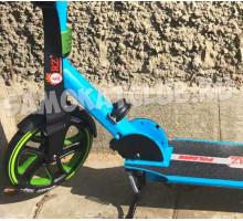 Самокат ORZ 200 (2019) синий с большими колесами 200мм