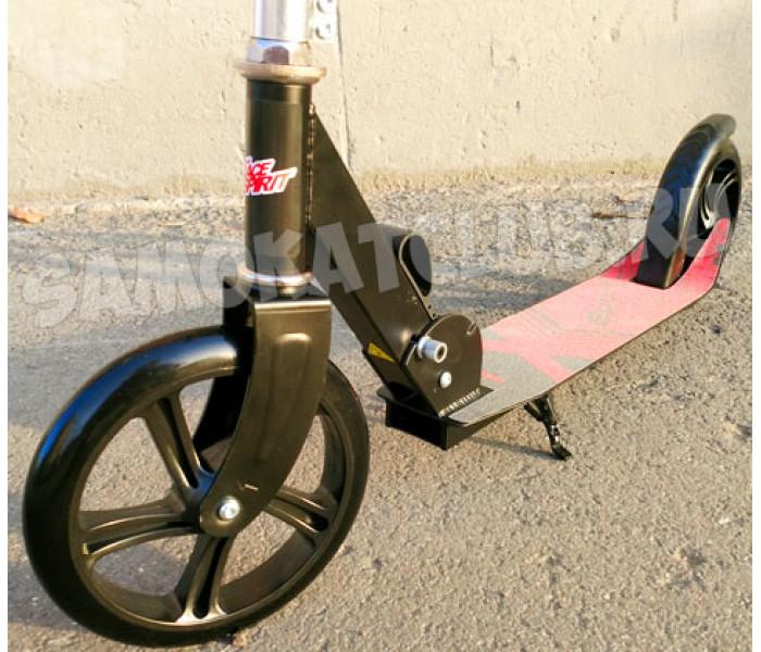 Самокат с большими колесами Race Spirit Sport 200