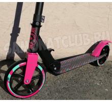 RAVEN Pink 180 самокат черно/розовый