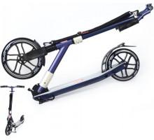 Cамокат ORZ 250-200 Violet (2020) с большими колесами 250мм