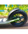 Складной самокат Race Spirit Хаки (2021г) с надувными колесами 200мм