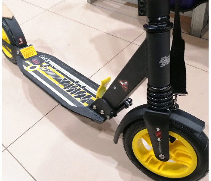 Самокат RACE SPIRIT с большими надувными колесами и амортизаторами