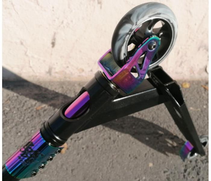 Трюковой самокат Race Spirit Pro Series Нео Хром