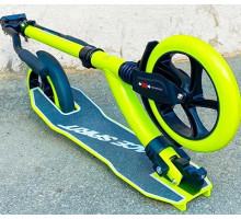 Самокат RACE SPIRIT с большими колесами и амортизатором