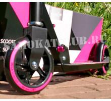 Raven 145мм розовый самокат детский двухколесный