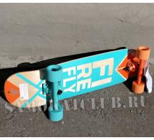 Деревянный скейтборд Fire FLY (2019) 70 см для обучения катанию