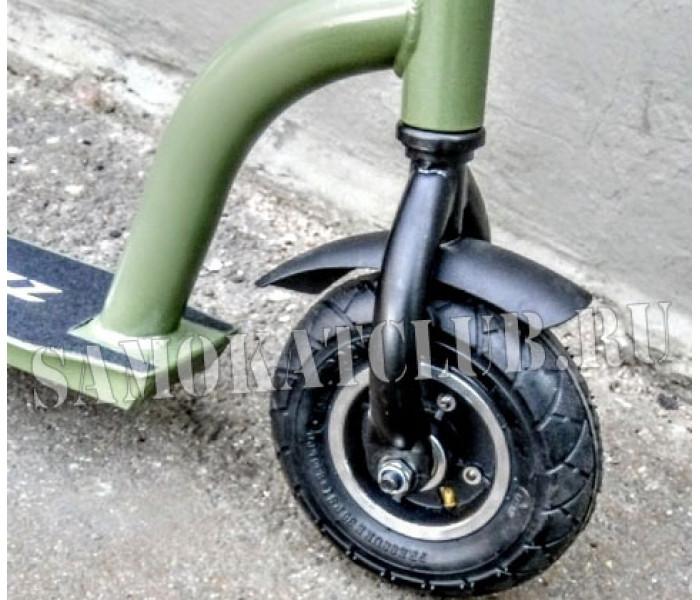 Самокат TEMPISH DIRT (Хаки) 2019 с надувными колесами