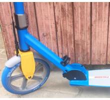 ORZ 230 синий самокат для взрослых с большими колесами