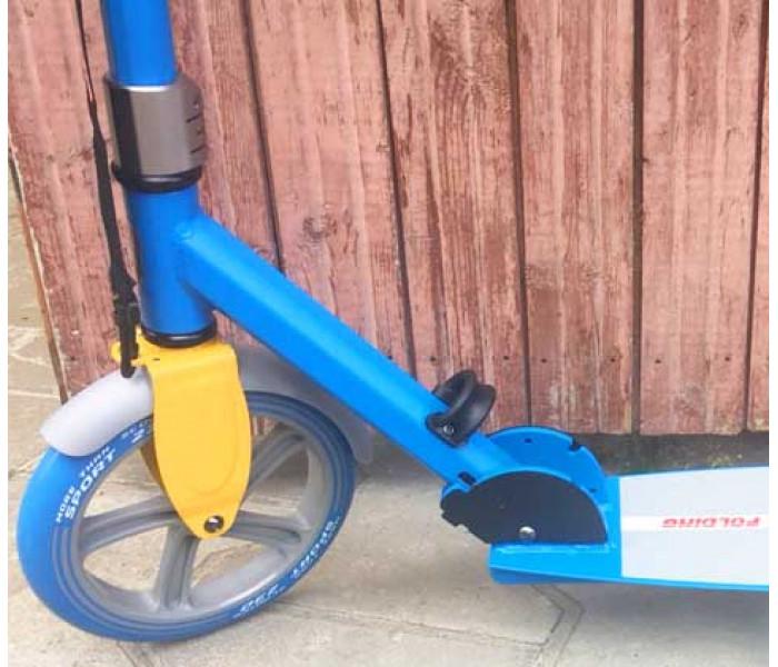 Самокат с большими колесами ORZ 230-230 синий