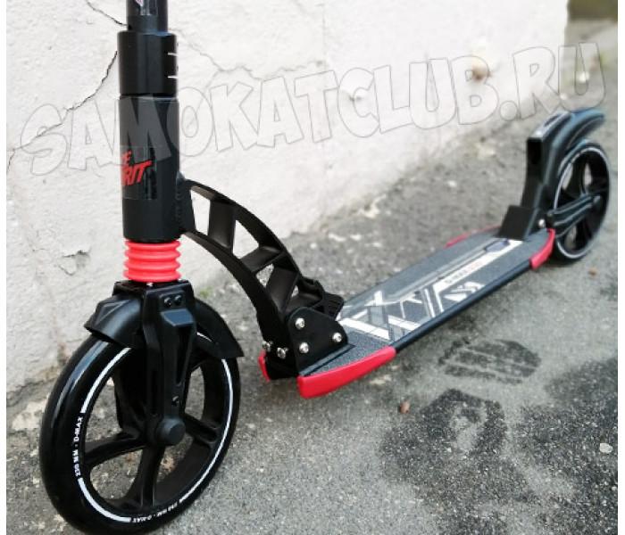 Cамокат для взрослых D-MAX 230 черный