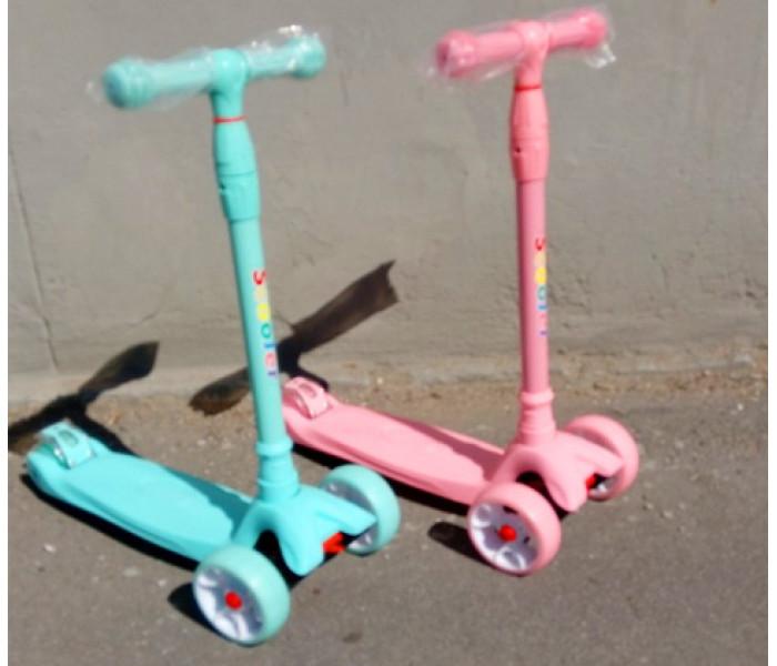 Детский трехколесный самокат Scooter Maxi Мятный (Скутер Макси)