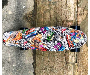"Мини-круизер Fish ""GRAFFITI"" 2019"