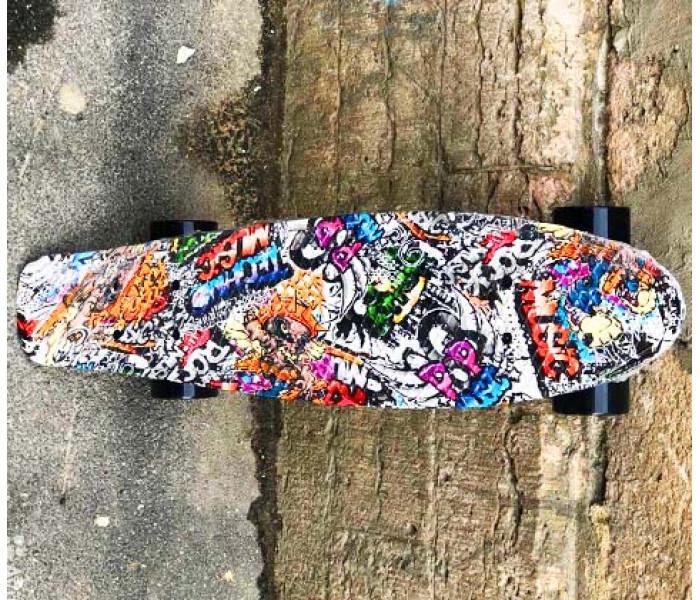 Круизер Fish 22 дюйма с рисунком ГРАФФИТИ
