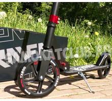 RAVEN 2019 самокат с большими колесами 200мм (черный)