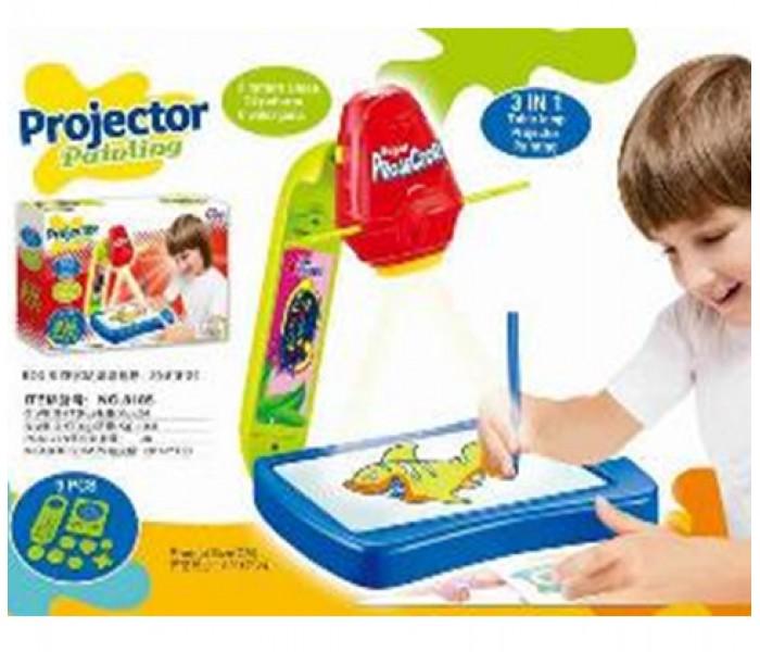 Проектор для рисования Projector Painting 3 в 1 детский