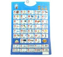 Азбука обучающий звуковой плакат для детей