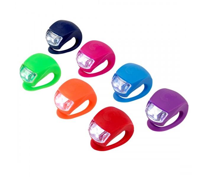 Светодиодный фонарик для детского трехколесного самоката или рюкзака