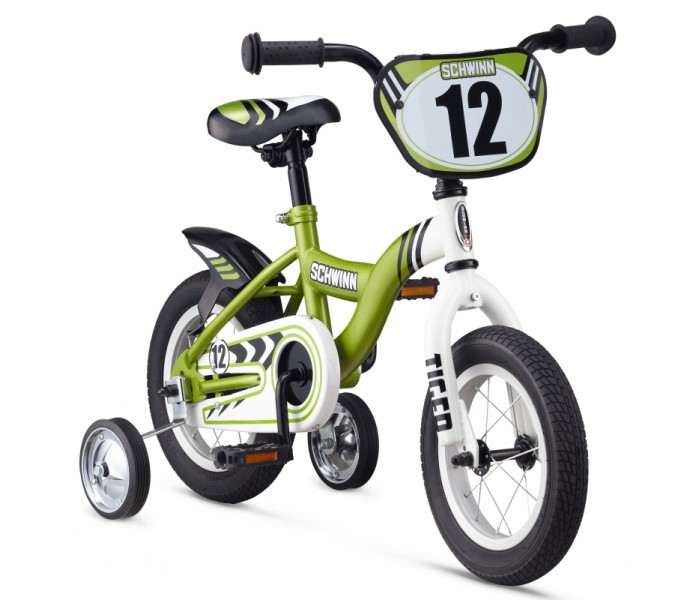 SCHWINN TIGER GREEN 12 дюймов 2014 велосипед для детей
