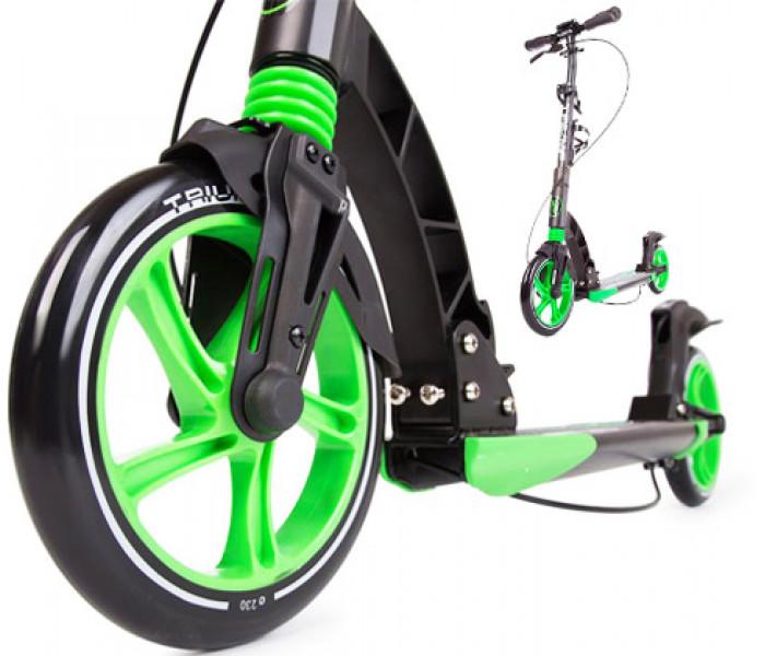 Cамокат для взрослых Triumf Active K5 с большими колесами 230-200мм
