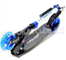 Cамокат Triumf Active SKL-041L со светящимися колесами (синий)