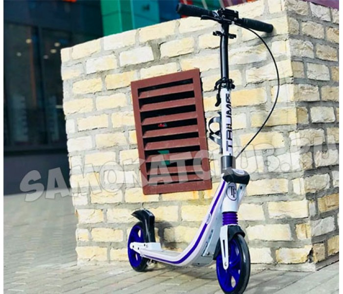 Cамокат Triumf Active K2T с большими колесами 200мм (устанавливается подставка для ребенка)