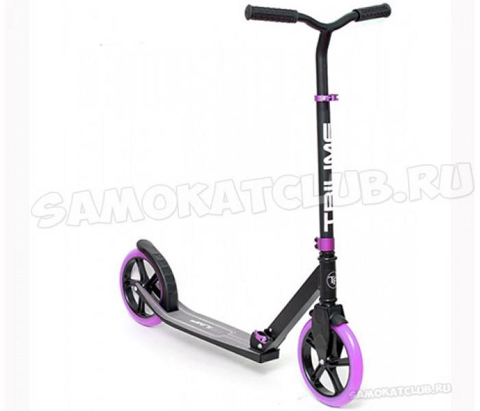 Самокат  Triumf active 230 фиолетовый с большими колесами