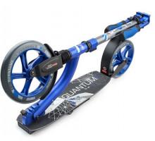 Trolo LUX Quantum II (синий металлик) самокат с двумя амортизаторами