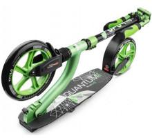 Trolo LUX Quantum II (зеленый металлик) самокат с двумя амортизаторами