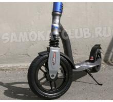 Trolo LUX Quantum AIR Grapfite (2019) самокат с надувными колесами и амортизатоом