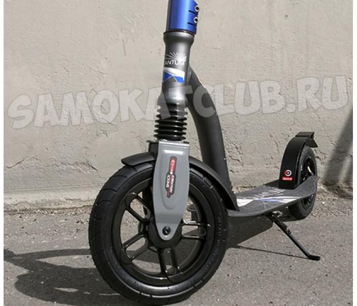 Самокат Trolo LUX Quantum Air 2019 (графит) с надувными колесами