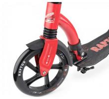 Trolo Raptor 230 самокат с амортизатором и болишими колесами (красный)